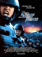 "Poster art for ""Starship Troopers."""