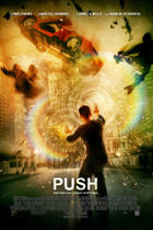 "Poster art for ""Push."""