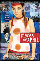 "Poster art for ""Pieces of April."""