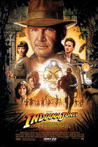 "Poster art for ""Indiana Jones and the Kingdom of the Crystal Skull."""