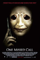 "Poster art for ""One Missed Call."""