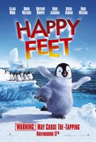 "Poster art for ""Happy Feet."""