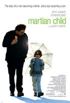 "Poster art for ""Martian Child."""
