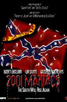 "Poster art for ""2001 Maniacs."""