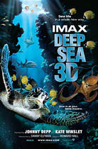 "Poster art for ""Deep Sea 3D."""