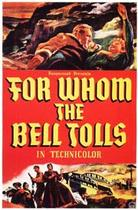 "Poster art for ""For Whom the Bell Tolls."""