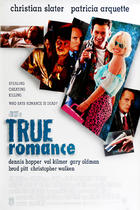 "Poster art for ""True Romance."""