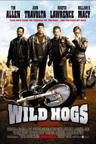 "Poster art for ""Wild Hogs."""