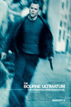 "Poster art for ""The Bourne Ultimatum."""