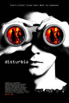 "Poster art for ""Disturbia."""