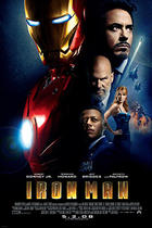 "Poster art for ""Iron Man."""