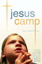 "Poster art for ""Jesus Camp."""