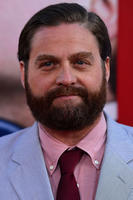 Zach Galifianakis at the Hollywood premiere of 'The Campaign.'