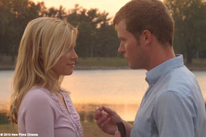 Amy Smart as Natalie and Ben Marten as Steve in ``Dead Awake.''