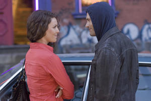 Katherine Heigl as Stephanie Plum and Jason O'Mara as Joseph Morelli in ``One for the Money.''