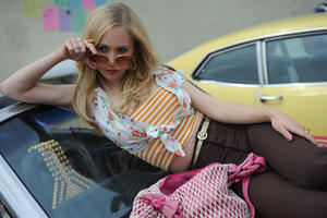 "Juno Temple as Danielle in ""Dirty Girl."""