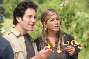 "Paul Rudd as George and Jennifer Aniston as Linda in ""Wanderlust.''"