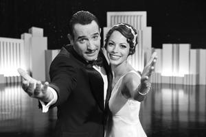 Jean Dujardin as George Valentin and Berenice Bejo as Peppy Miller in ``The Artist.''