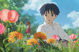 "Arrietty and Shawn in ""The Secret World of Arrietty.''"