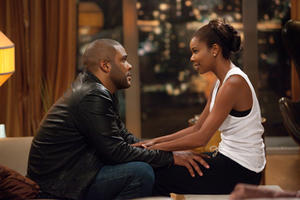 Tyler Perry as Wesley Deeds and Gabrielle Union as Natalie in ``Tyler Perry's Good Deeds.''
