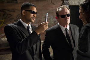 Will Smith as Agent J and Tommy Lee Jones as Agent K in ``Men in Black 3.''