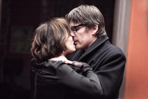 Kristin Scott Thomas as Margit and Ethan Hawke as Tom Ricks in ``The Woman in the Fifth.''