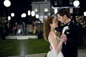 "Rachel McAdams as Clare Abshire and Eric Bana as Henry DeTamble in ""The Time Traveler's Wife."""