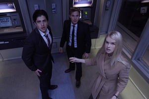 Josh Peck as Corey, Brian Geraghty as David and Alice Eve as Emily in ``ATM.''