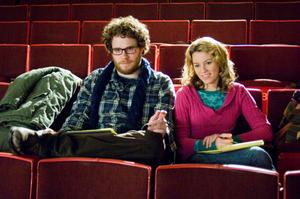 "Seth Rogen and Elizabeth Banks in ""Zack and Miri Make a Porno."""