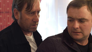 "Michael Smiley as Gal and Neil Maskell as Jay in ""Kill List."""