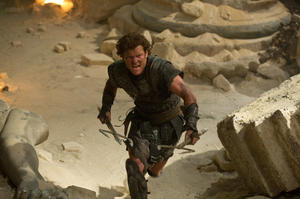 "Sam Worthington as Perseus in ""Wrath Of The Titans."""