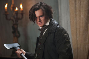 "Benjamin Walker as Abraham Lincoln in ""Abraham Lincoln: Vampire Hunter."""