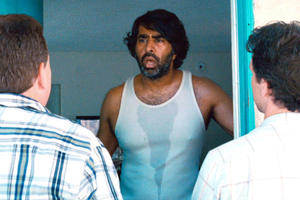 "Jay Chandrasekhar as Ron Jon in ""The Babymakers."""