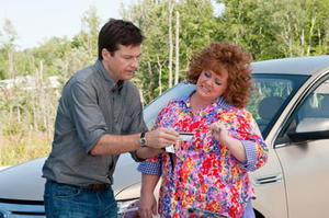 "Jason Bateman and Melissa McCarthy in ""Identity Thief."""