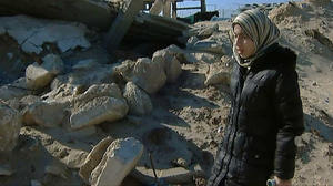 "Amira in ""Tears of Gaza."""