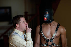 "Nick Swardson and Marlon Wayans in ""A Haunted House."""