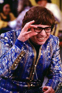 "Mike Myers in ""Austin Powers: The Spy Who Shagged Me."""