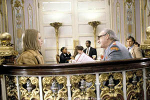 "Gwyneth Paltrow (left) and Gene Hackman (right) in Touchstone Pictures' comedy ""The Royal Tenenbaums."""