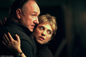 "Gene Hackman and Rebecca Pidgeon in Franchise Pictures and Morgan Creek Pictures ""Heist,"" distributed by Warner Bros. Pictures."
