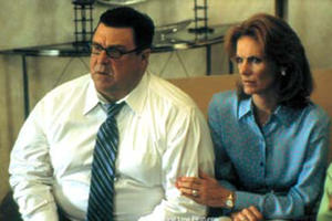 "John Goodman stars as Marty Livingston and Julie Hagerty stars as Fern Livingston in ""Storytelling."""
