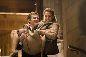 "Hayden Christensen and Jessica Alba in ""Awake."""