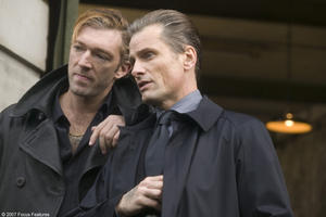 "Vincent Cassel and Viggo Mortensen in ""Eastern Promises."""