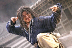 "Jackie Chan in ""The Forbidden Kingdom."""