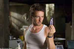 "Edward Norton in ""The Incredible Hulk."""