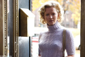 "Gretchen Mol as Catherine Caswell in ""An American Affair."""