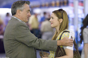 "Robert De Niro as Frank and Drew Barrymore as Rosie in ""Everybody's Fine."""