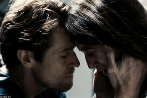 "Willem Dafoe as He and Charlotte Gainsbourg as She in ""Antichrist."""