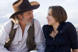 "Jeff Bridges as Bad Blake and Maggie Gyllenhaal as Jean in ""Crazy Heart."""