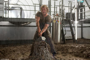 "Chris Hemsworth as Donald Blake/Thor in ""Thor."""