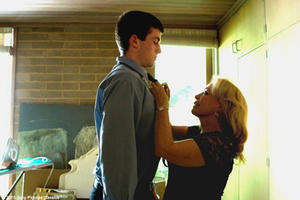 "James Frecheville as Joshua ""J"" Cody and Jacki Weaver as Janine ""Smurf"" Cody in ""Animal Kingdom."""